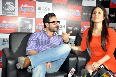 Saif Ali Khan Kareena Kapoor interacting with the media at film AGENT VINOD promotions at Reliance Digital Store in Mumbai Photo