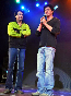 Shahrukh Khan with choreographer Shiamak Davar at Summer Funk 2012 event of Shiamak Davar in Mumbai Pic