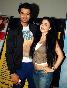 Manish Paul with Elli Avram at film SIXTEEN Premiere at PVR Cinemas