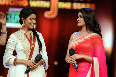 Asin and Prachi Desai on Jhalak Dikhlaja Show for Bol Bachchan Movie Promotion Photo