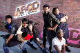 Lauren Gottlieb Salman Khan  Dharmesh  Prince  Mayuresh and Vrushali in ABCD Movie Photo