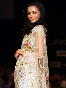 Amy Jackson walking the ramp for designer Bhairavi Jaikishan at LFW Summer Resort Photo