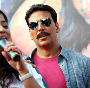 Akshay Kumar at his film ROWDY RATHORE promotions in Lokhandwala Complex in Mumbai Pic