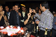 Vidya Balan feeding cake to film KAHAANI team at her film KAHAANI success party in Mumbai Photo