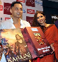 Vidya Balan with Sujoy Ghosh unveiling the DVDs of their film KAHANI at the Diesel Store photo