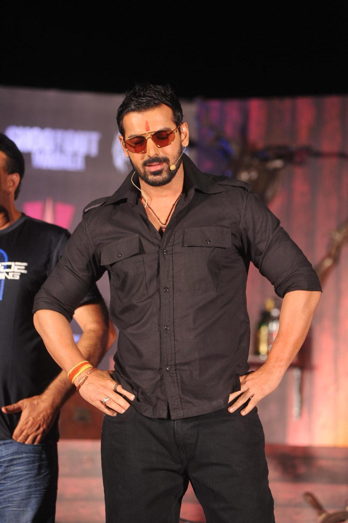 John Abraham at song Aala Re Aala launch of film SHOOTOUT AT WADALA at    John Abraham Body Building In Shootout At Wadala
