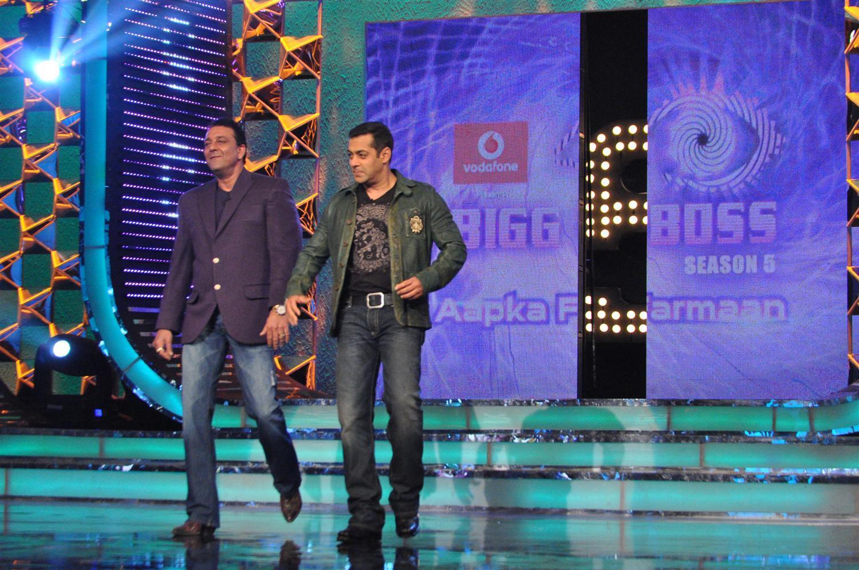 Khan hosting bigg boss season 5 episode on bigg boss sets at karjat 1