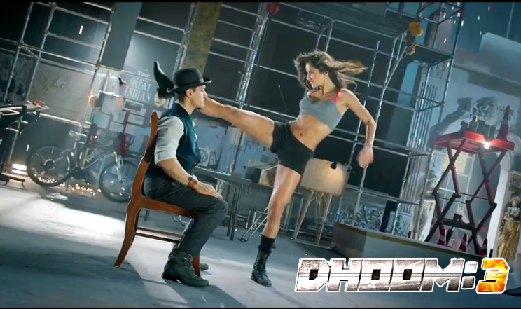 Katrina Kaif Aamir Khan Dhoom 3 Film Song Still