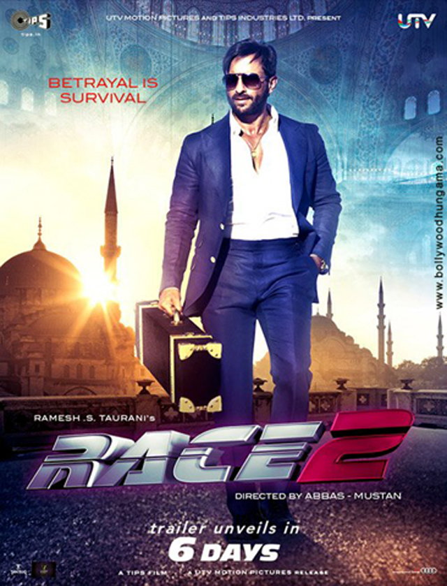 saif ali khan race 2 movie first look race 2 on rediff pages