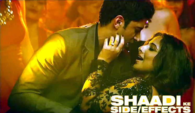 Vidya balan farhan aktar shaadi ke side effects movie song still