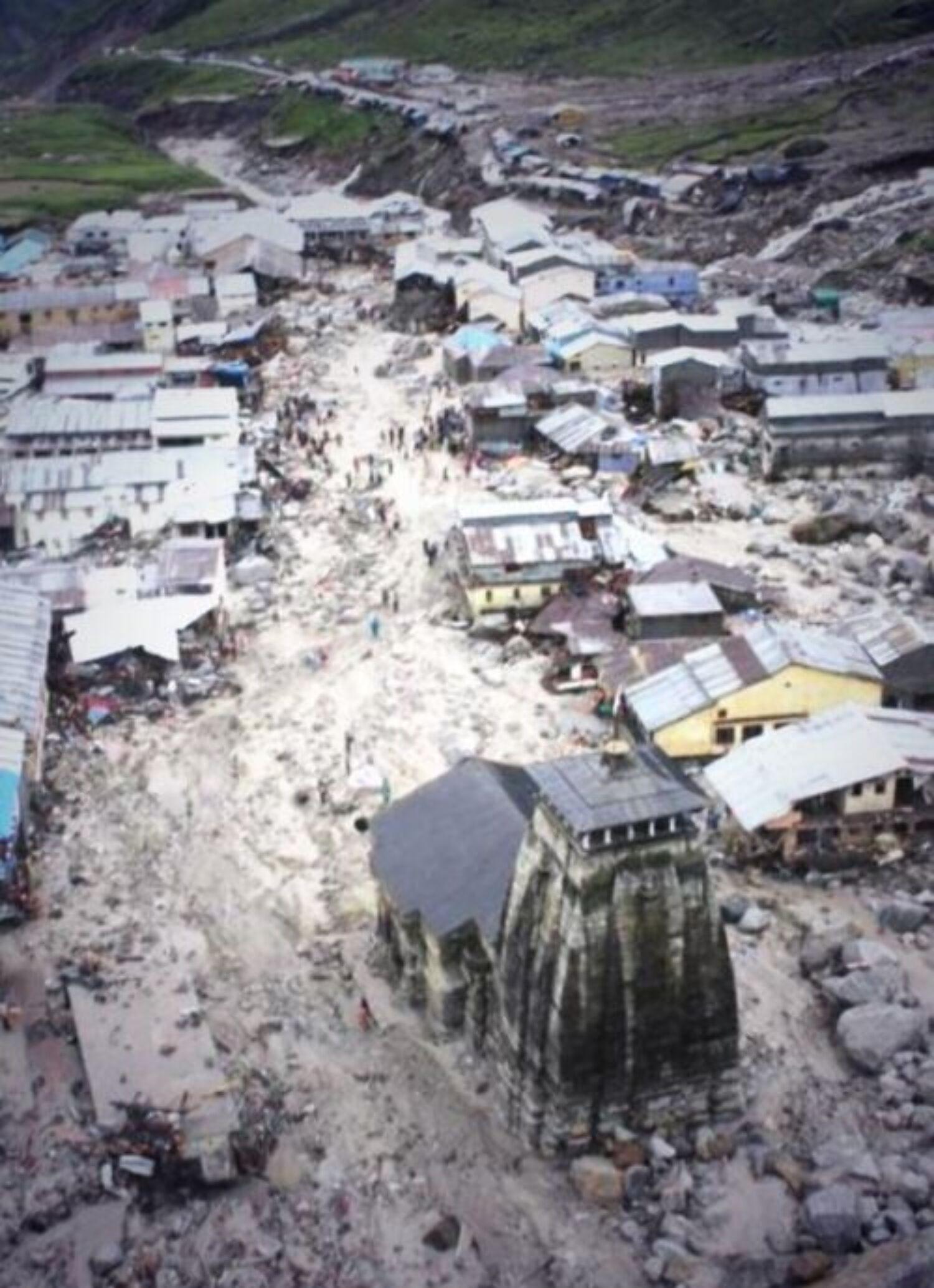 Devastation at Kedarnath : uttarakhand disaster on Rediff ... Uttarakhand Temple Disaster