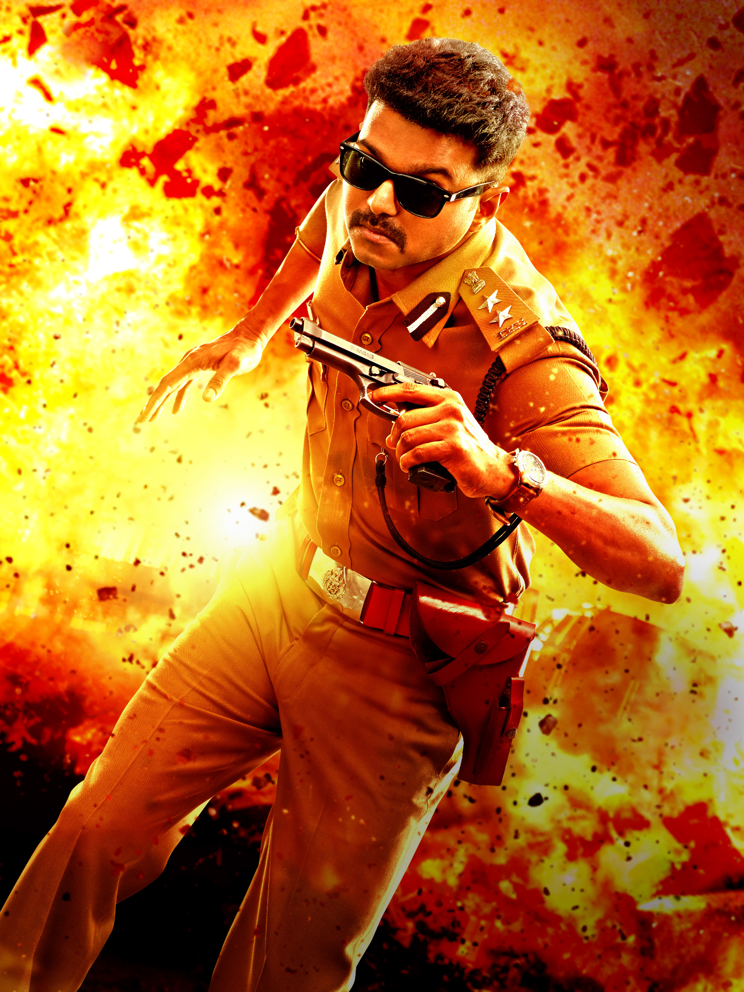 vijay movie theri photo theri on rediff pages