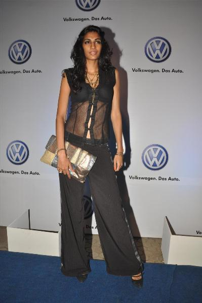 bollywood celebs at planet volkswagen launch at blue frog-photo22