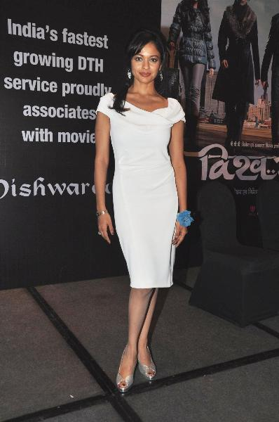 Pooja Kumar at film VISHWAROOPPremiere tie up with VIDEOCON DTH announcement event in Mumbai  4