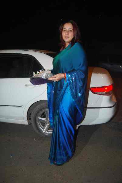 Producer Shrishti Arya at Ekta Kapoor  s Diwali Party at Krishna Bungalow
