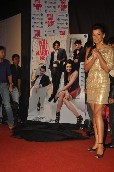 Mugdha Godse at film Will You Marry Me music launch at Hotel JW Marriott in Mumbai  3