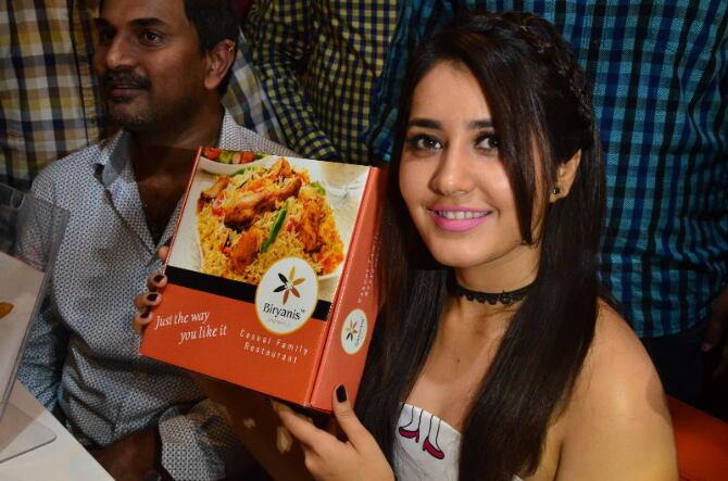 Raashi Khanna Launches Biryani Restaurant at Chandanagar  26