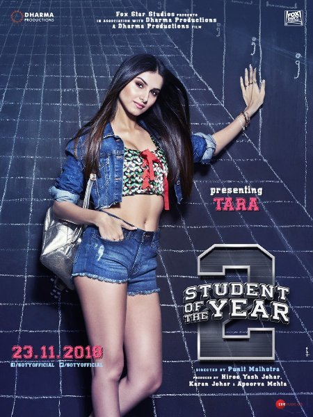 Tara Sutaria Student of the Year 2 Movie Poster First Look