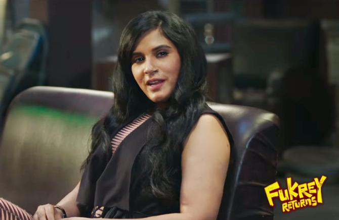 Richa Chadda Fukrey Returns Hindi Movie Stills  27