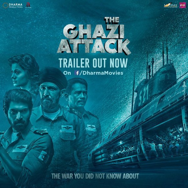 The Ghazi Attack Movie Poster  5