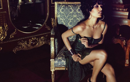 Freida Pinto Flaunt Magazine July 2012 Photo