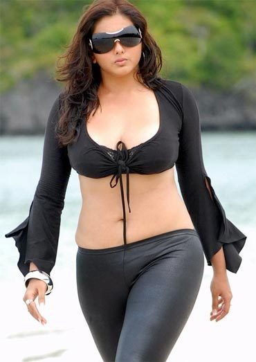 Namitha in Billa