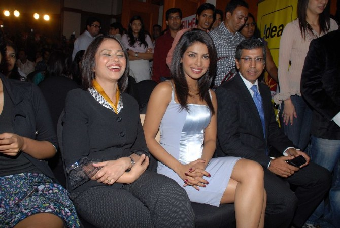 priyanka chopra at idea function
