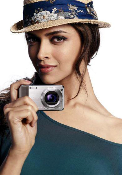 Deepika Padukone photo shoot for Sony Cybershot