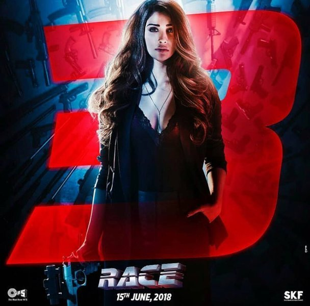 Daisy Shah as Sanjana in Race 3 Movie Poster First Look