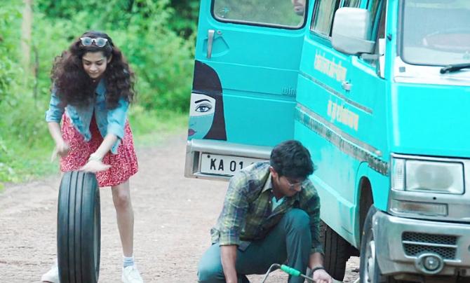 Mithila Palkar  Irrfan Khan   Dulquer Salmaan starrer KARWAAN Movie Stills  6