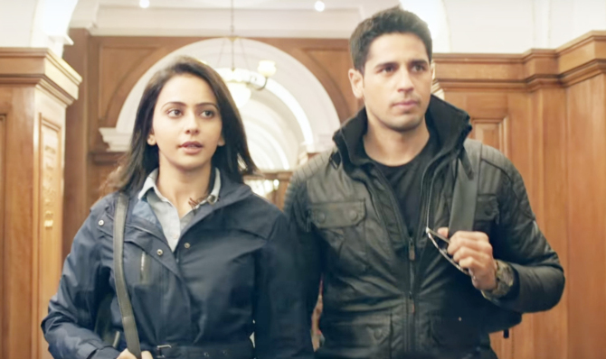 Rakul Preet Singh   Sidharth Malhotra Aiyaary Movie Photos  48