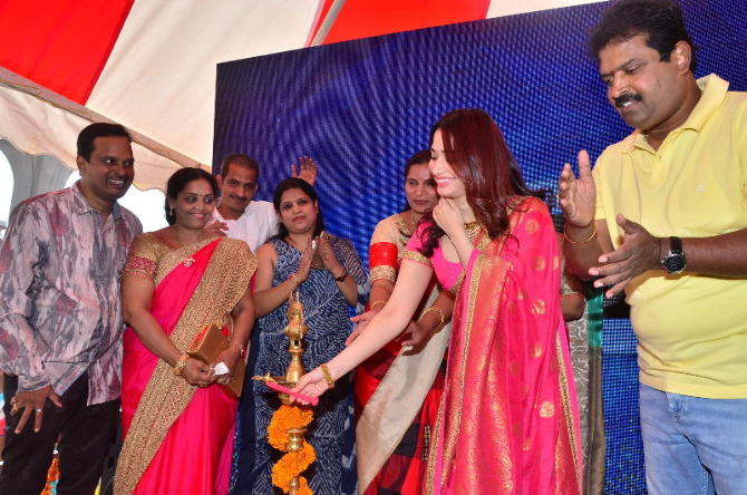tamanna launches joh rivaaj collections-photo11