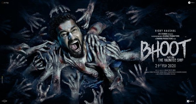 Vicky Kaushal and Bhumi Pednekar First look poster of Bhoot Part One   The Haunted Ship