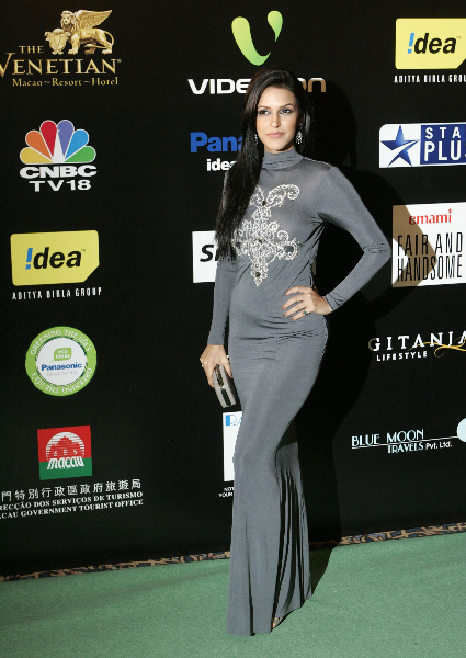 Neha Dhupia On TV Channel Party