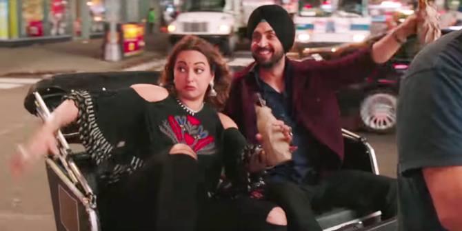 Sonakshi Sinha  Diljit Dosanjh Welcome to New York Movie Song Pics  9