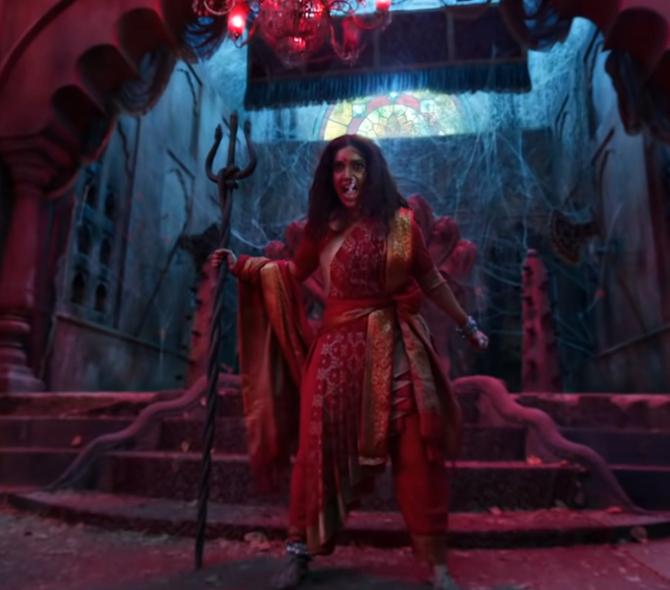 durgamati hindi movie bhumi pednekar photos-photo1