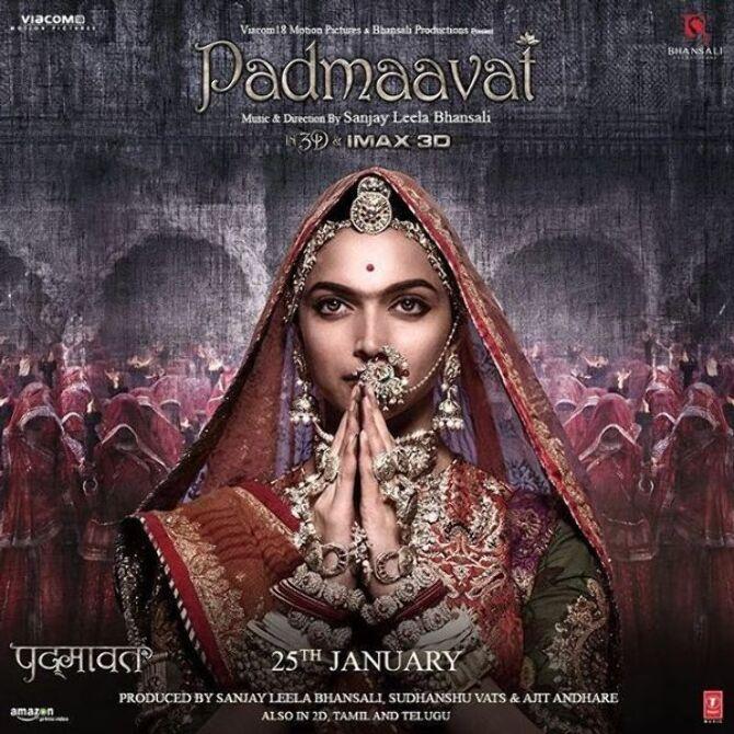 Deepika Padukone Padmaavat Movie Poster