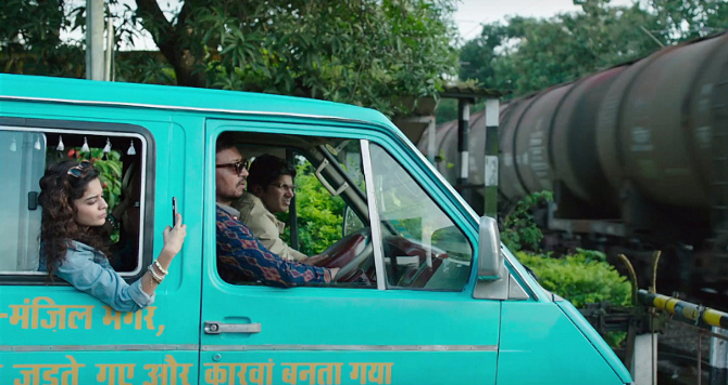 Mithila Palkar  Irrfan Khan   Dulquer Salmaan starrer KARWAAN Movie Stills  4