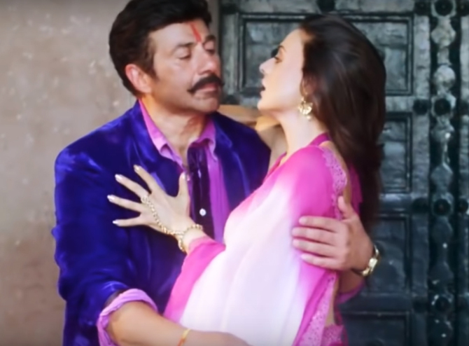Ameesha Patel   Sunny Doel starrer Bhaiaji SuperhitHindi movie photos  12