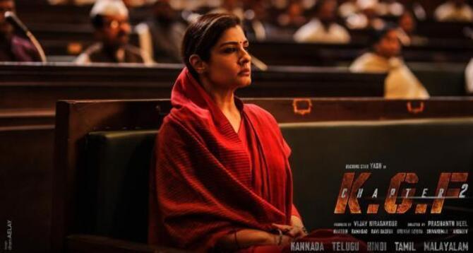 Meet the powerhouse Raveena Tandon as Ramika Sen