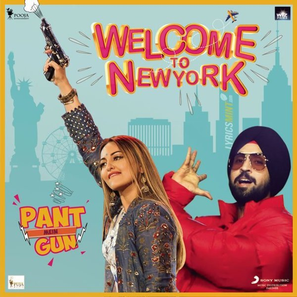Sonakshi Sinha  Diljit Dosanjh Welcome to New York Movie Song Pics  8
