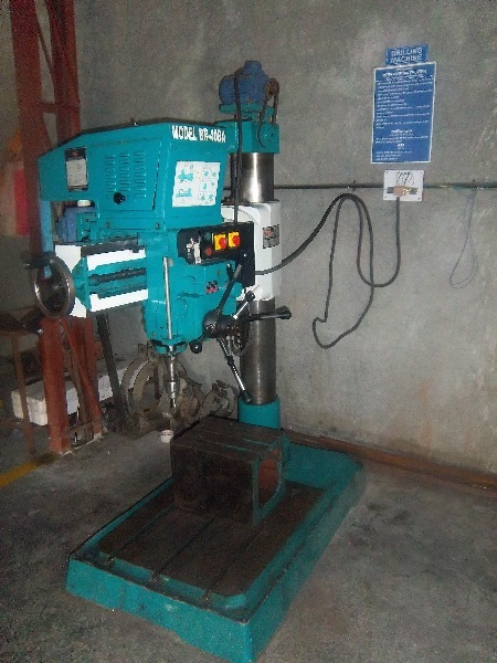 Radial Semi Automatic drilling