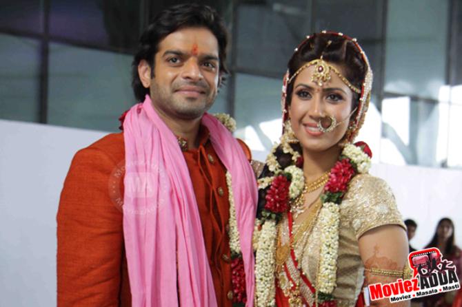 karan patel and ankita bhargava wedding ceremony