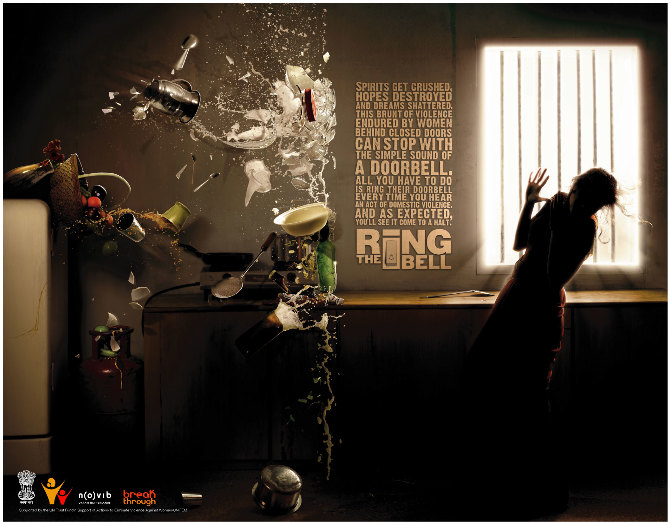 Bell Bajao Print Ad English