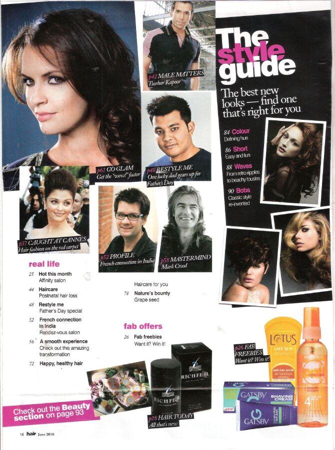 Gatsby   HAIR June 2010 issue