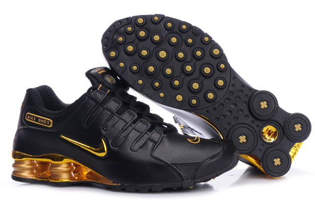 mens nike shox nz black gold www. Black Bedroom Furniture Sets. Home Design Ideas