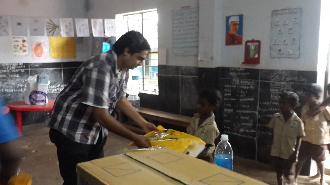 Distributing Dresses