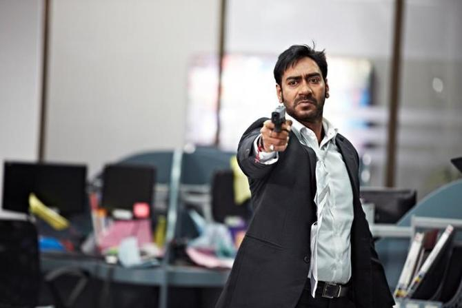 Ajay Devgn Tezz Scene Photo