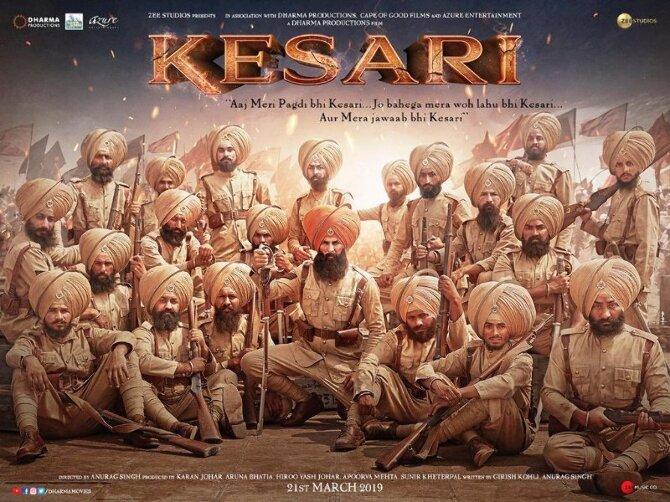 Akshay Kumar Kesari Poster