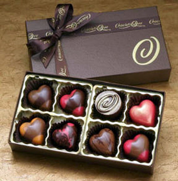 Happy Chocolate Day Gift Box